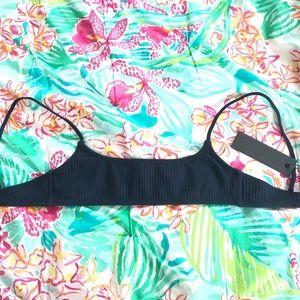 triangl - pipa inc ink navy scoop bikini top